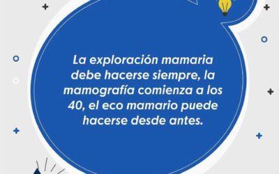 FAQ 5 ¿A partir de que edad se empieza a realizar la exploración mamaria?