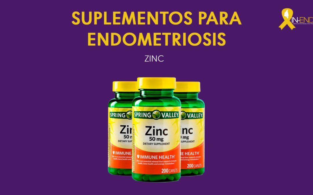 Suplemento para Endometriosis: ZINC