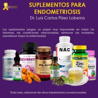 Suplementos para Endometriosis