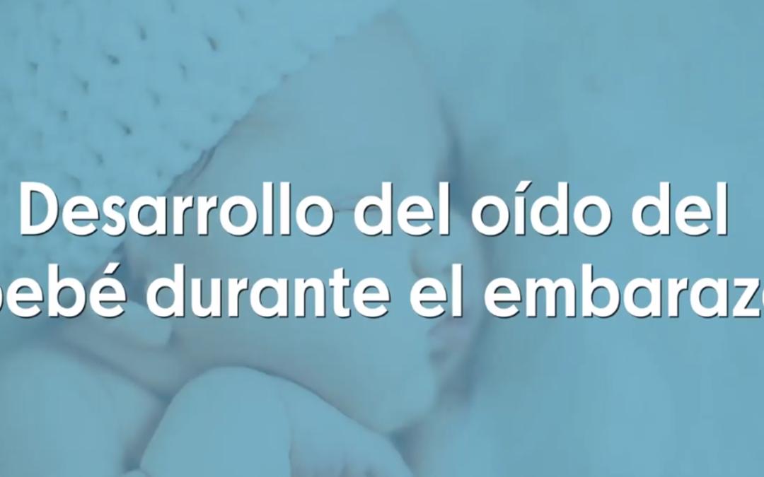 Desarrollo del oído del bebé durante el embarazo